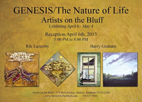 Artists on the Bluff Exhibition 4/6/13 5:00pm